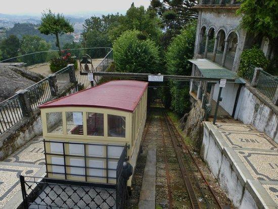Bom Jesus do Monte: trein