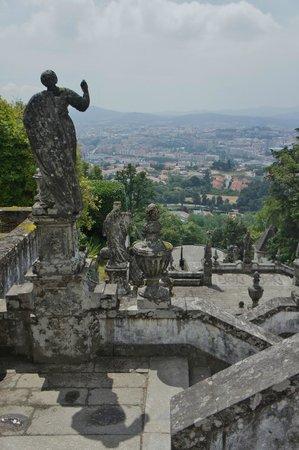 Bom Jesus do Monte: zicht