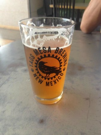 Taos Mesa Brewing: A nice cold IPA!