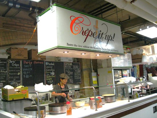 Photo of New American Restaurant Crepe It Up at 91 Front St. East, Toronto M5E 1C2, Canada