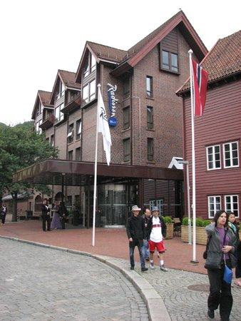 Radisson Blu Royal Hotel, Bergen: Outside view