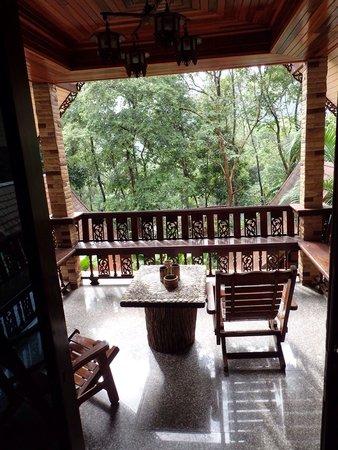 Khao Sok Las Orquideas Resort: Veranda view
