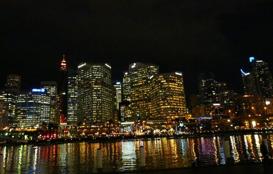 Darling Harbour by night