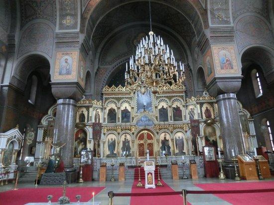 Uspenskin Cathedral (Uspenskin Katedraali): 教会内部です。