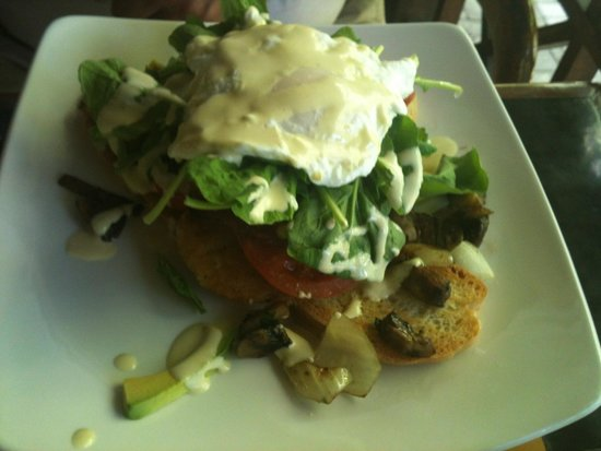 The Porch Cafe: Hash stack