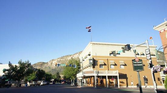 Historic Downtown Durango: he General Palmer Hotel in Durango