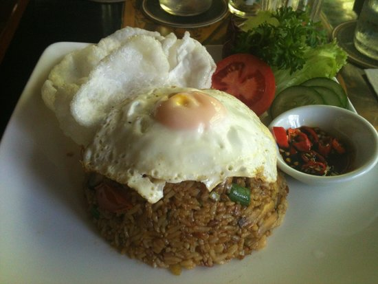 The Porch Cafe: Indonesian fried rice