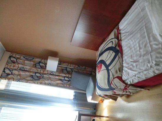 Cumulus Kaisaniemi: 部屋は一人なら十分な広さで、清潔でした。