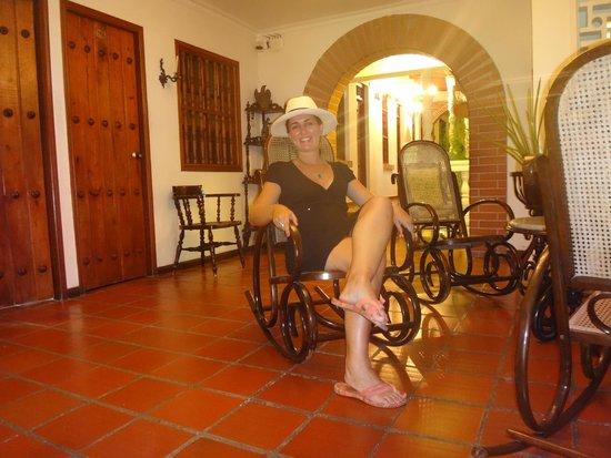 Hotel Casa Baluarte : Sala de estar