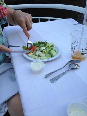 Dells Boat Tours: Salad - average