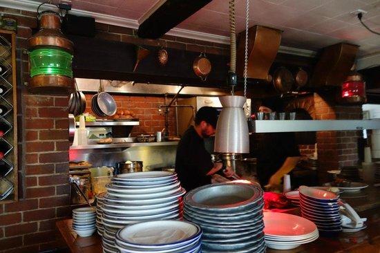 Square Rigger: Kitchen Area