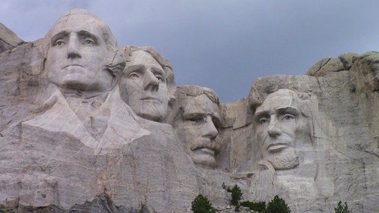 Mount Rushmore National Memorial: Close up