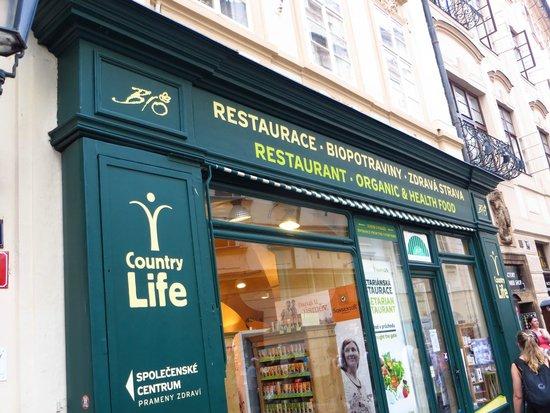 Country Life: Great for Veggie & vegan Food