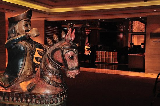 ITC Grand Chola, Chennai: A Chola in the lobby