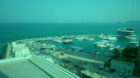 Hilton Doha: View from the room
