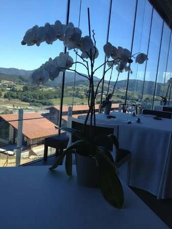 Azurmendi Gastronomico: View from our table