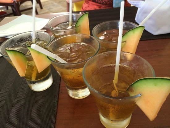 Holiday Resort Lombok : Welcome drinks