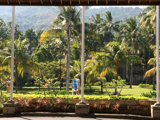 Holiday Resort Lombok : View of apartments from foyer