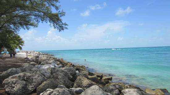 Fort Zachary Taylor Historic State Park : Point