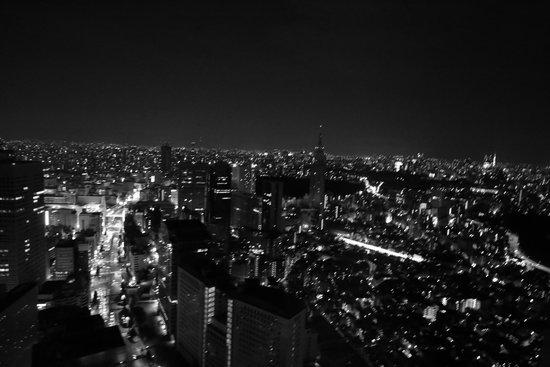 Park Hyatt Tokyo : Night view from Room 4801