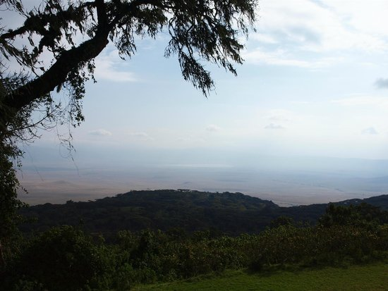 Ngorongoro Sopa Lodge : View to Ngorongoro Conservation Area