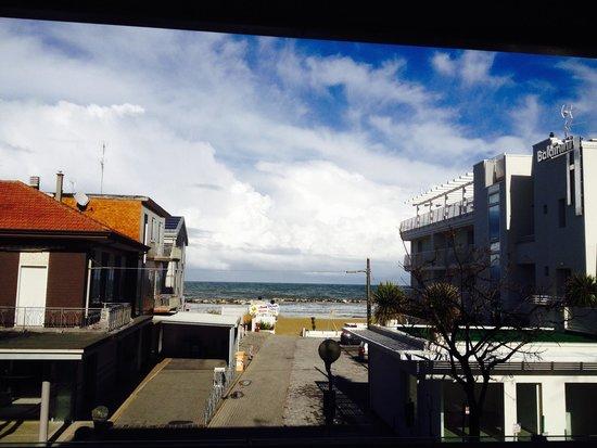 Residence Fanny: Trilocale Vista Mare - Vista balcone