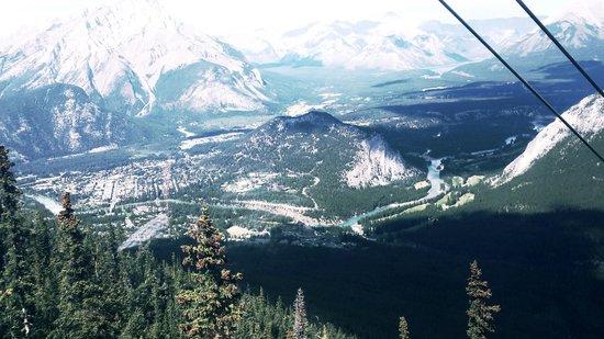 Banff Gondola: View from gondola