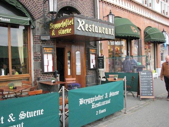 Bryggeloftet & Stuene : Right outside
