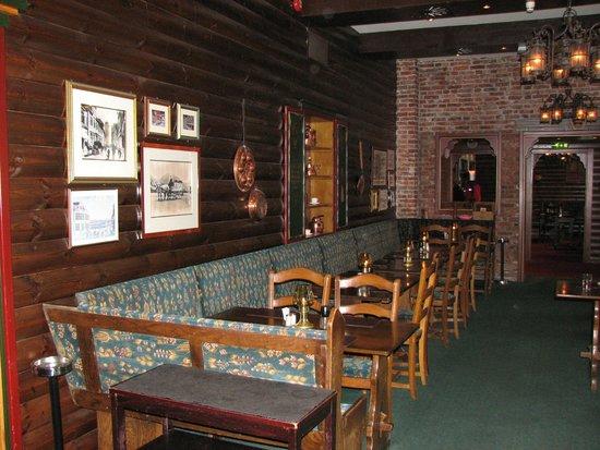 Bryggeloftet & Stuene : Inside dining are