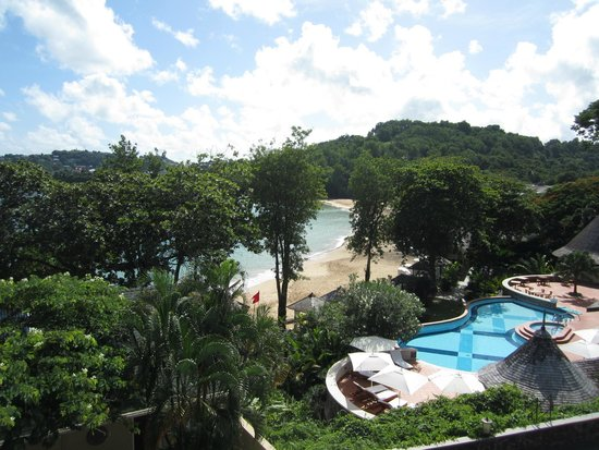 Sandals Regency La Toc : View from our balcony/