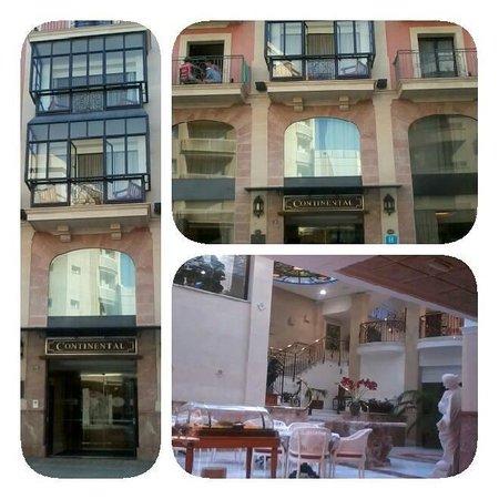 Hotel Continental: quelques vues de l'hôtel