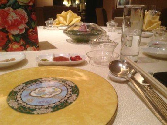 Golden Peony @ Conrad Centennial Singapore: Cutlery