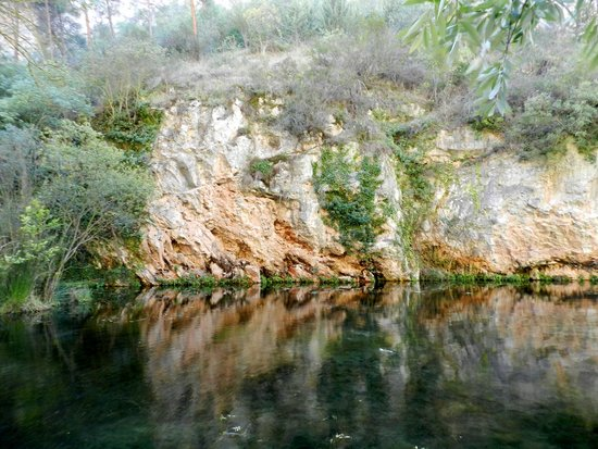 Parque Natural del Monasterio de Piedra: Зеркальное озеро