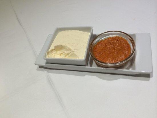 Tasca del Puerto: Mousse de mantequilla y sobrasada