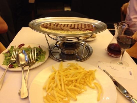 Chez Boubier Cafe de Paris: Wonderfully simple, fantastic quality