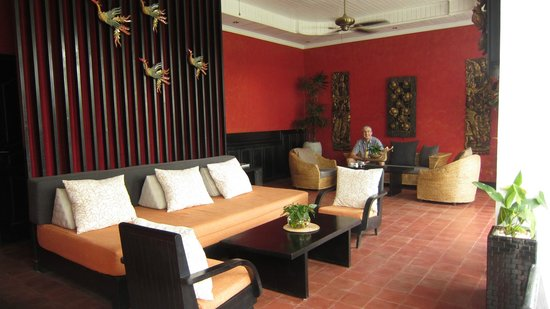 Mulberry Boutique Hotel : Lounge
