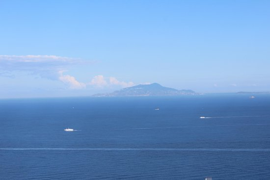 Residence Gocce di Capri : View from our apartment to the sea