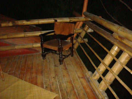 Hotel Reserva Natural Atitlán: A deck picture