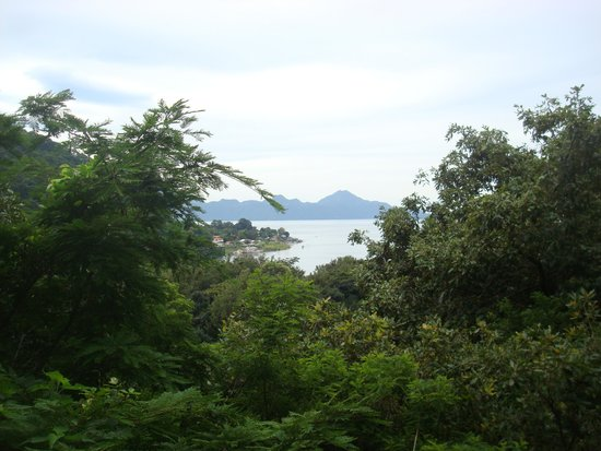 Hotel Reserva Natural Atitlán: The view form one of the hiking trails.