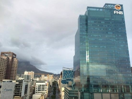 Southern Sun Waterfront Cape Town: View from my room
