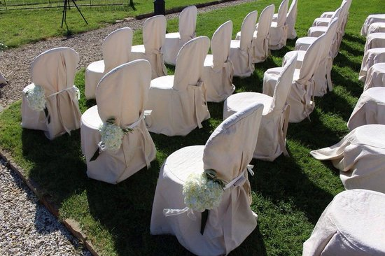 Villa Baroncino : Ready for the ceremony!