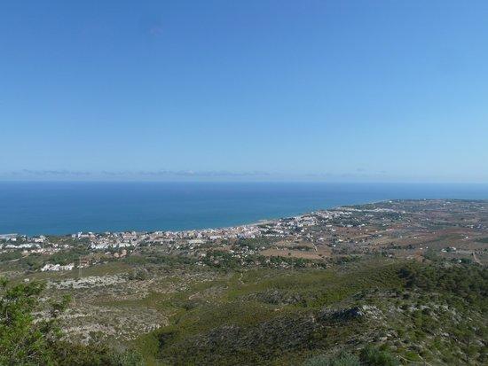 Complejo Eurhostal : Vistas desde La Ermita de San Miguel