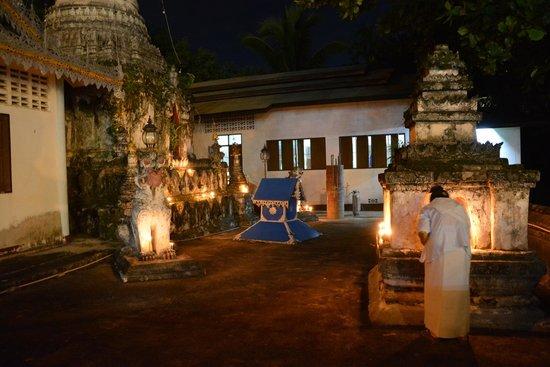 Wat Chong Kham : Beginn der Fastenzeit