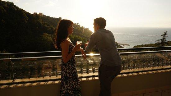 Best Western Hotel La Solara Sorrento: View from balcony