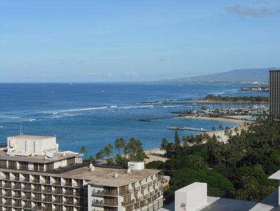 The Imperial Hawaii Resort at Waikiki: View toward Holiday Inn