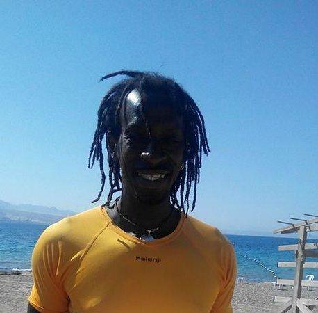 U Coral Beach Club Eilat : Sherif, the wonderful wind-surfing instructor