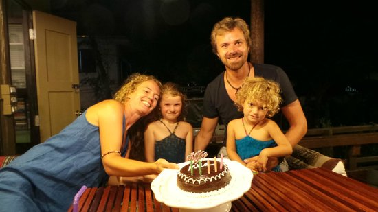 Ciao Koh Chang: After becoming regular clients, Ciao treated us on a tasty cake for my daughters 6th birthday!