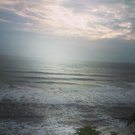 Varkala Beach: sunset