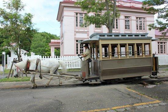 Historical Village of Hokkaido (Kaitaku-no Mura) : Horse Drawn Tram