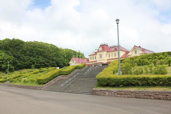 Historical Village of Hokkaido (Kaitaku-no Mura) : Front of Village